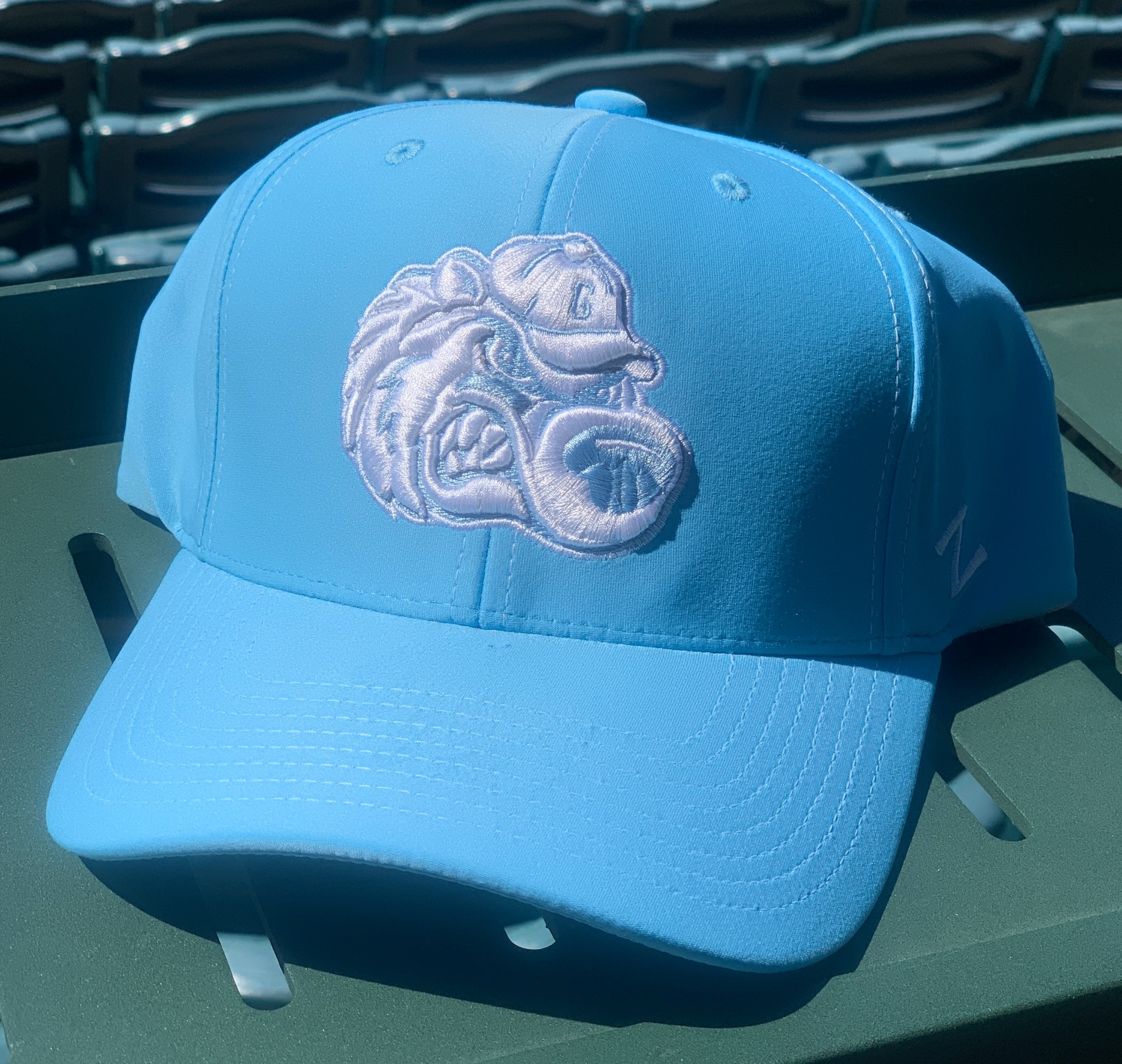 Baby Blue Mean Slugger Hat