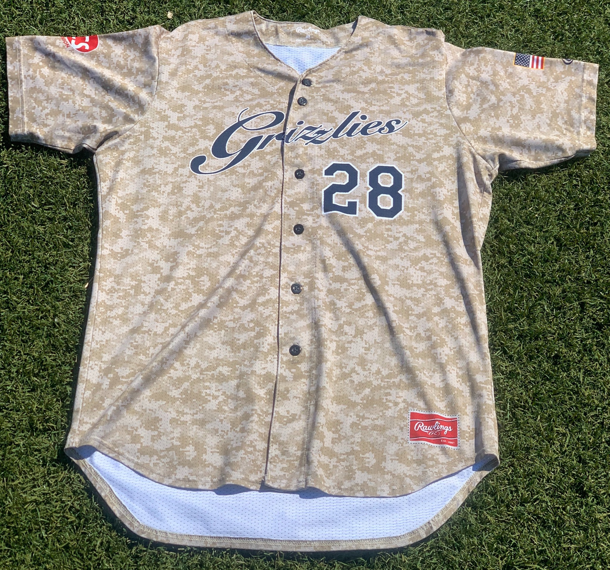 Official Camo Jersey