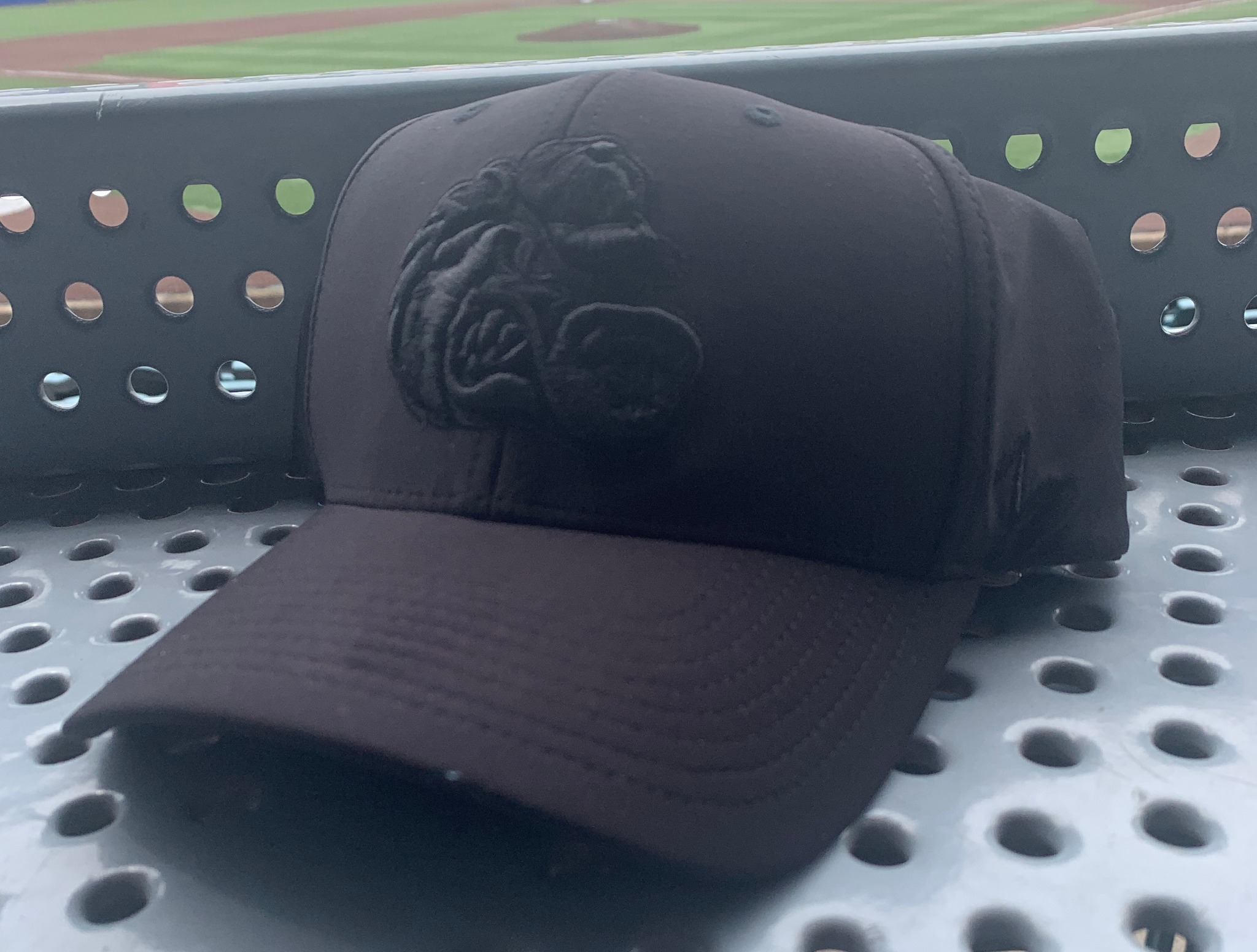 Grizzlies Blackout Hat