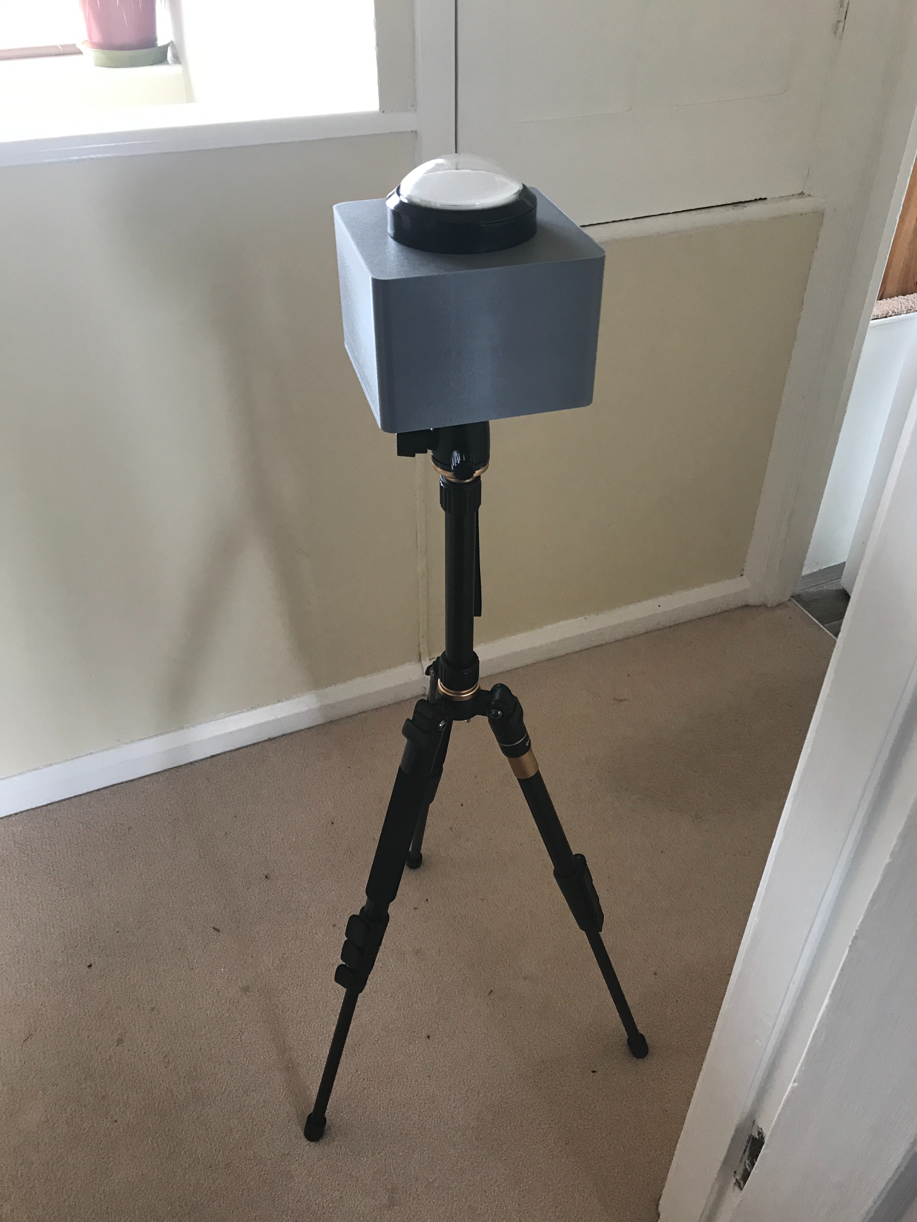 Arcade Button Tripod Mount