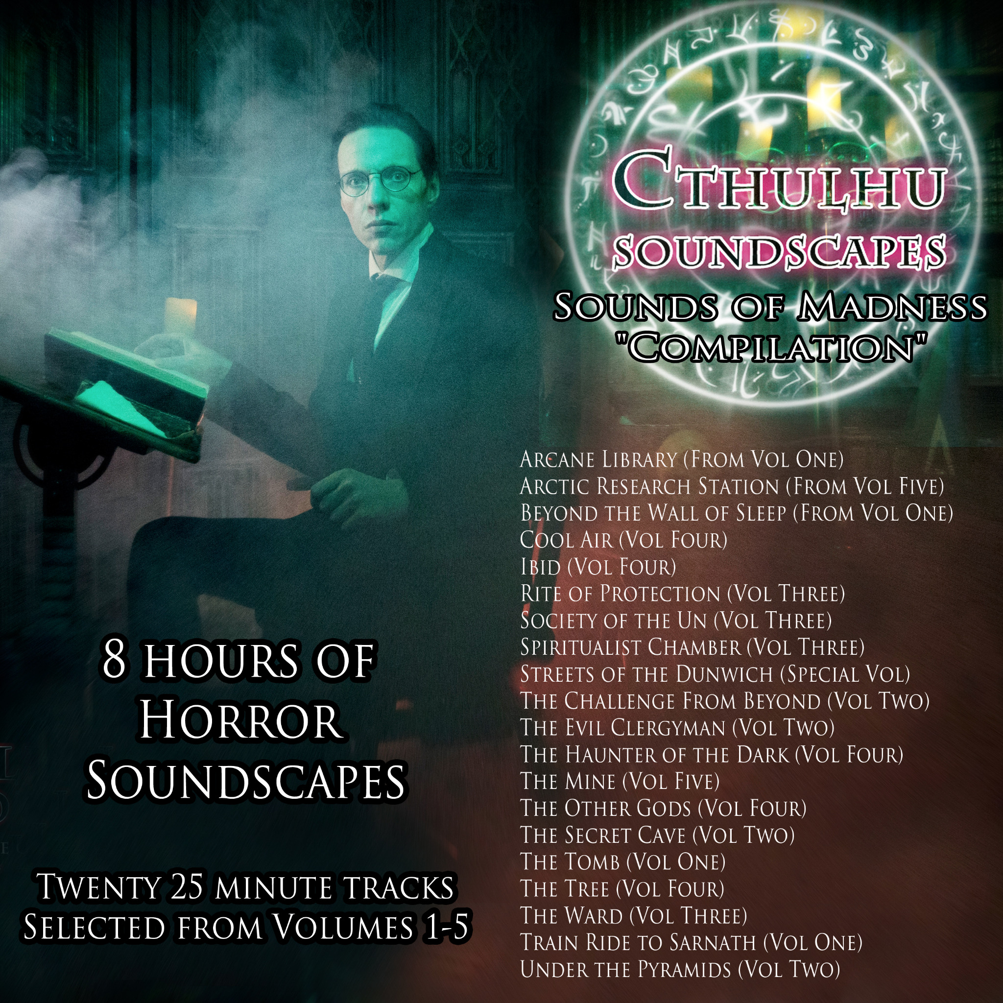 "Cthulhu Parlour Sounds of Madness """"Compilation"""
