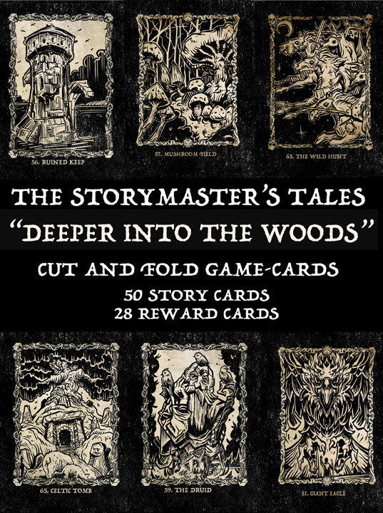 "The StoryMaster's Tales ""Deeper into the Woods"" GAME CARDS"