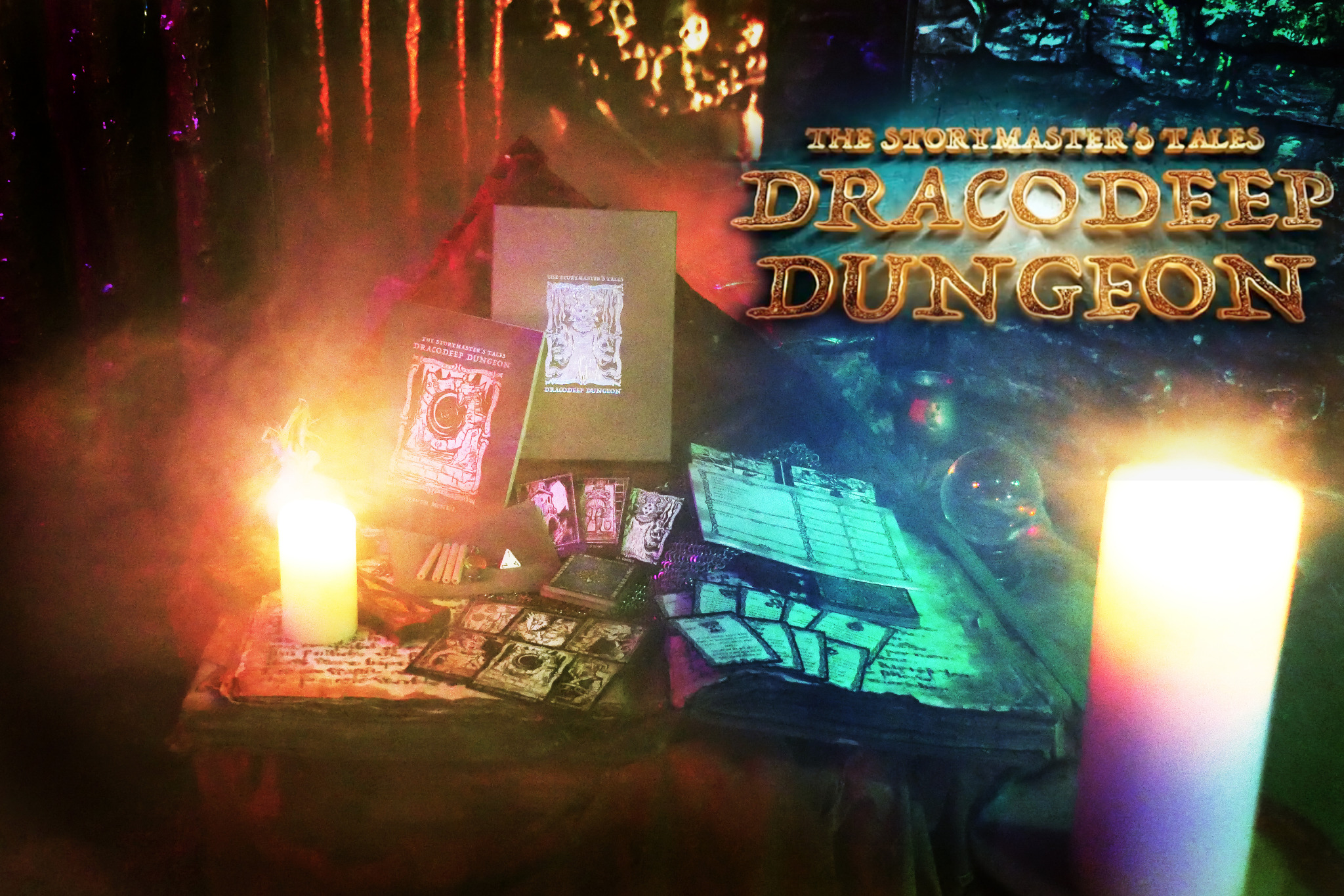 The Storymaster's Tales Dracodeep Dungeon Print & Play *No physical copy will be sent.