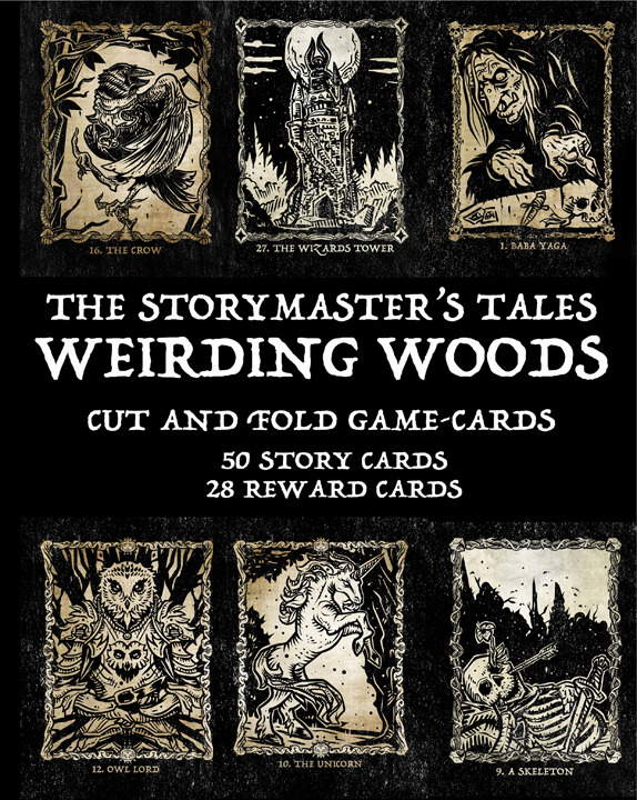 "The StoryMaster's Tales Weirding Woods ""GAME-CARDS"""