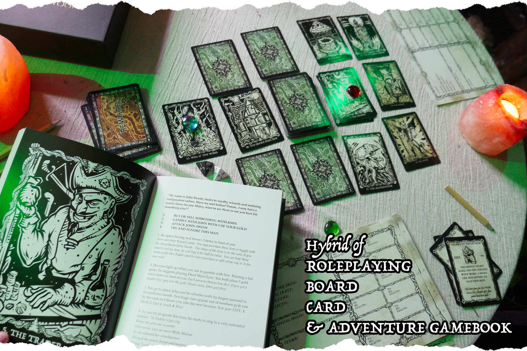 The StoryMaster's Tales Weirding Woods PRINT & PLAY! *No physical copy will be sent.