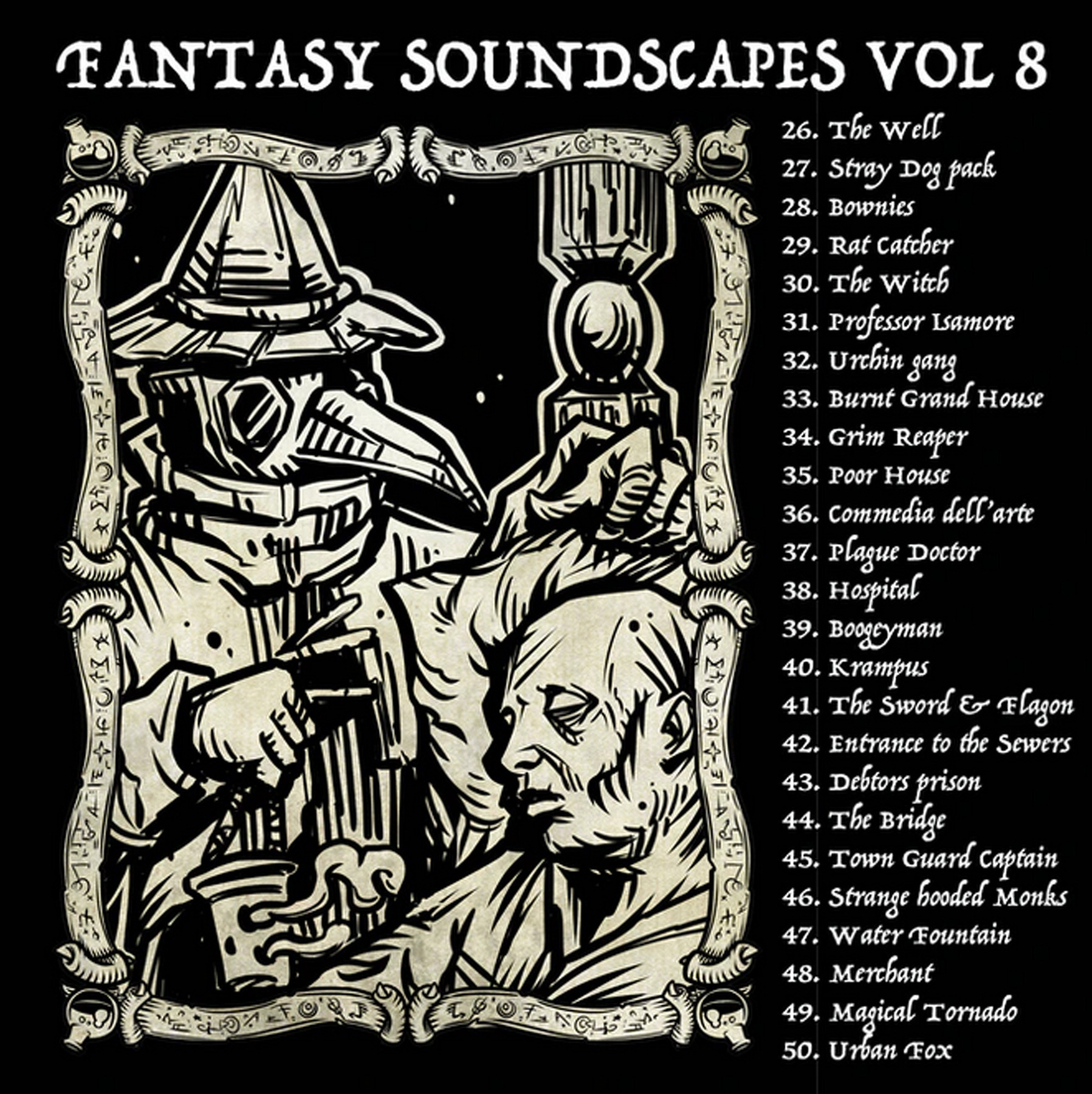 "Fantasy Soundscapes Vol 7 & 8 ""Town and City"""