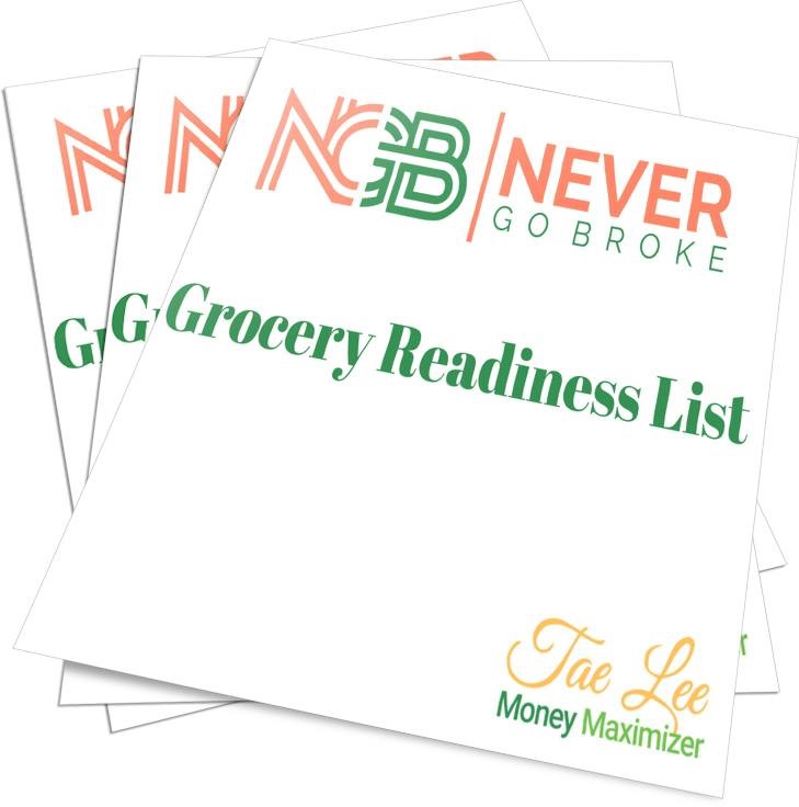 Grocery READINESS List