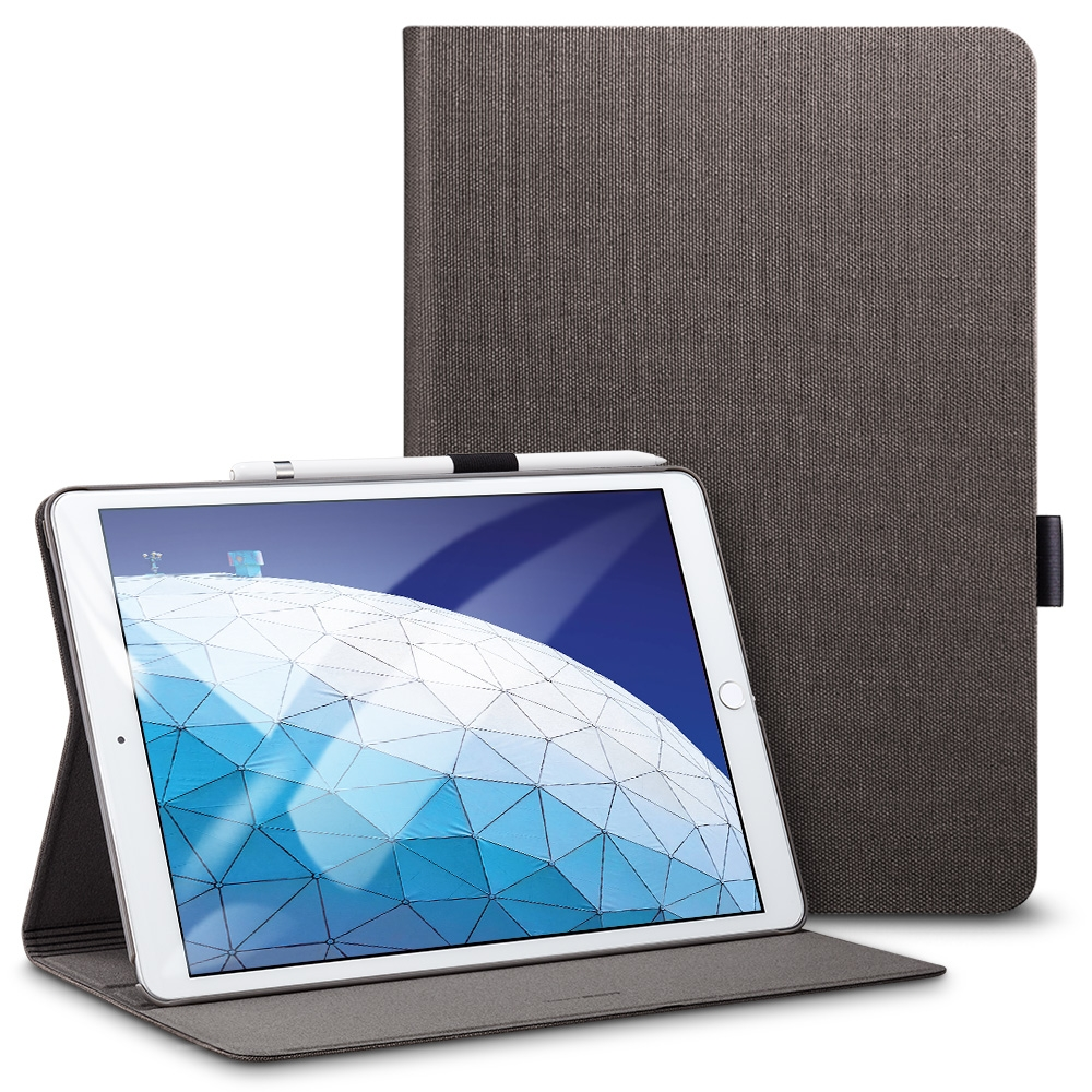 Trendy Leather iPad Air 2 Case (10.5 Inch), With Auto Sleep Functionality (Grey)