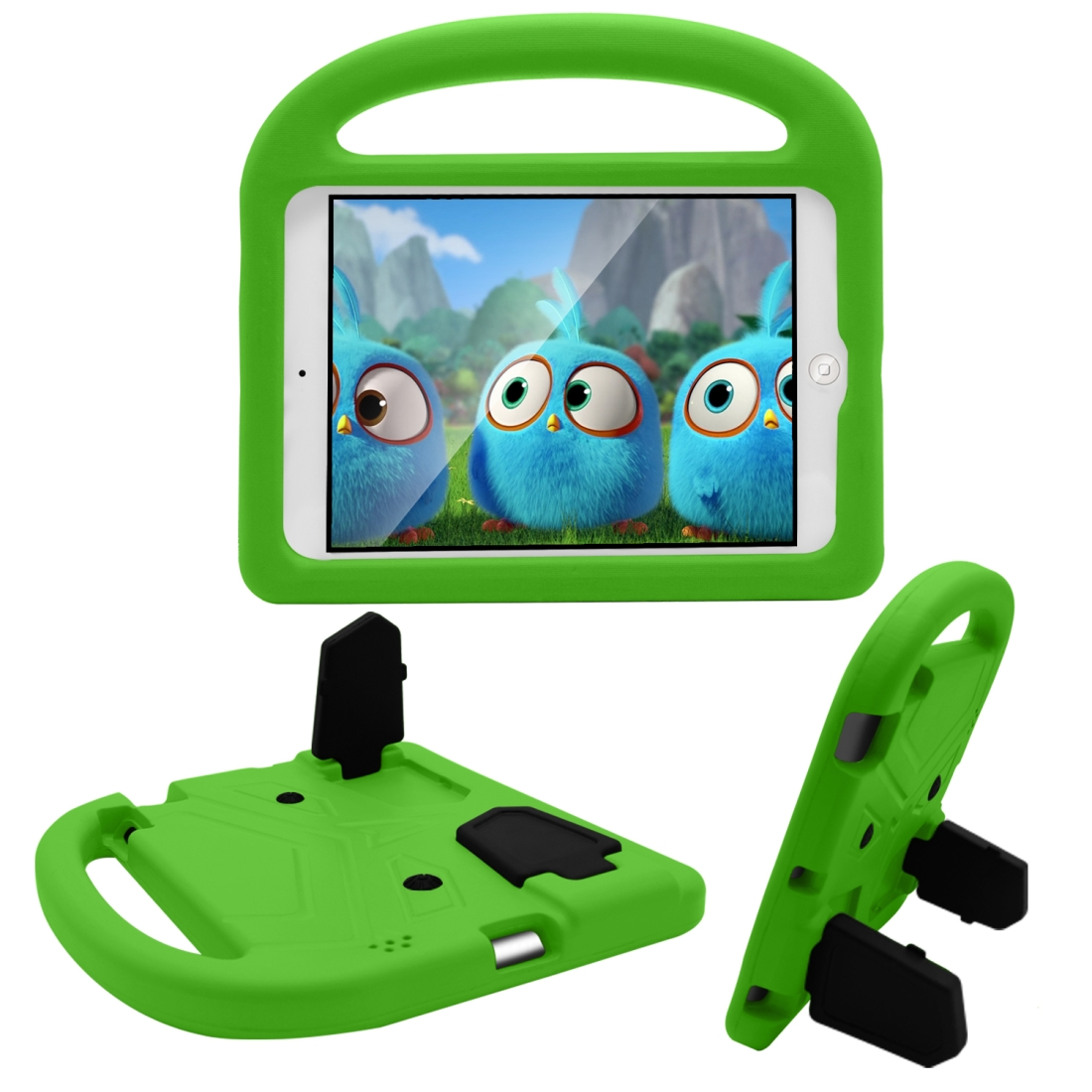 iPad Cover For Kids Fits iPad 2/3/4 With A Kid Friendly Durable Shockproof EVA Design (Green)