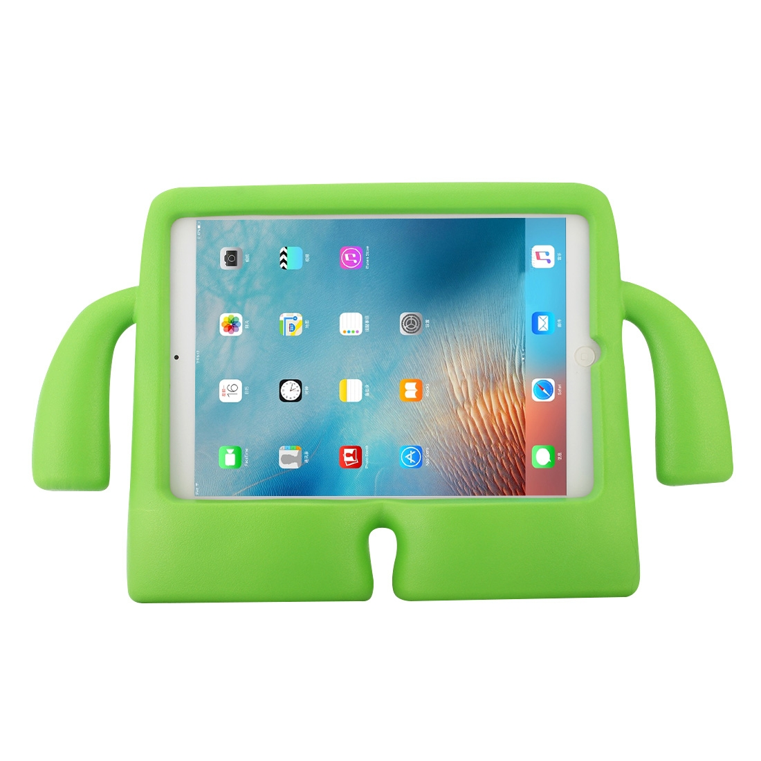 Shockproof Protective iPad 9.7 Case (2017) (2018), iPad Air, Air 2 (Green)