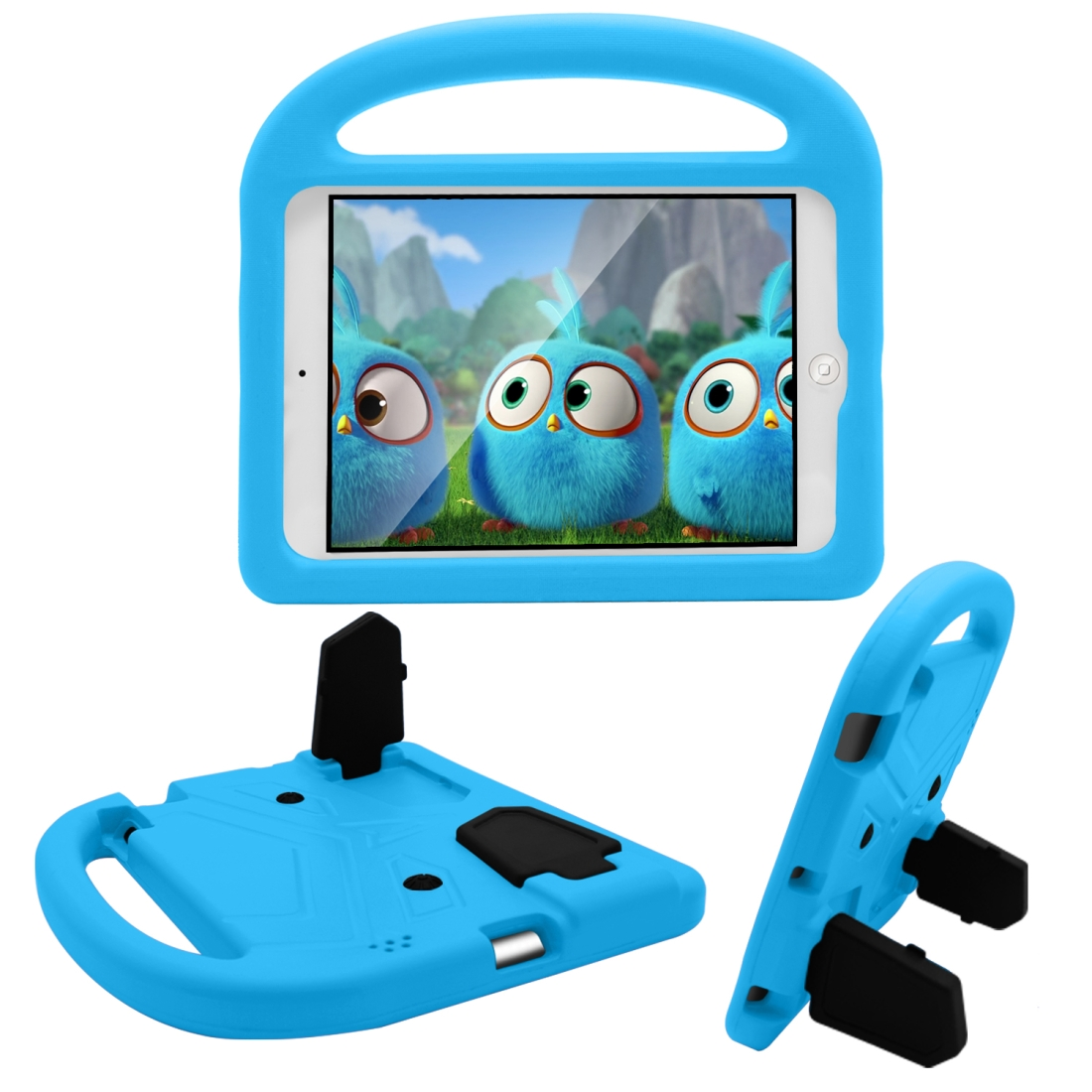 iPad Cover For Kids, Fits iPad 2/3/4 With A Kid Friendly Durable Shockproof EVA Design (Blue)
