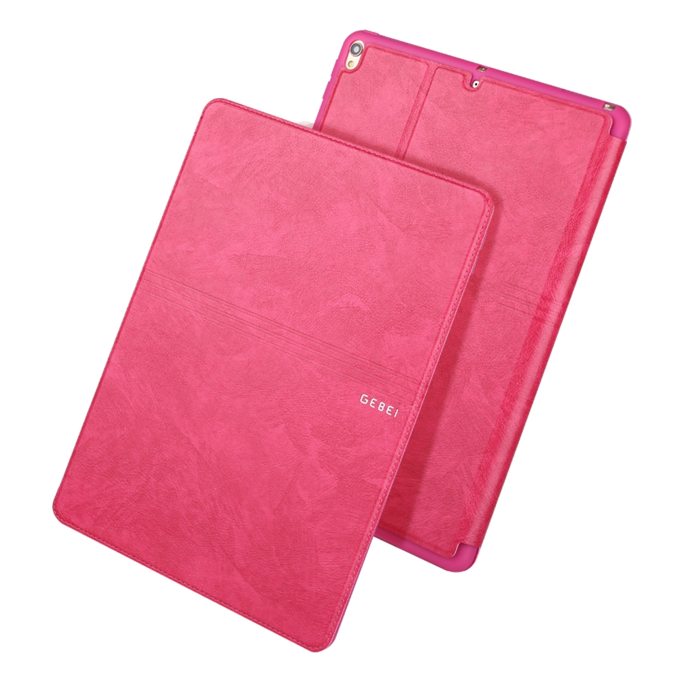 iPad Air 3 Case (10.5 Inch) Full Coverage Protective Case with Sleeves (Rose Red)