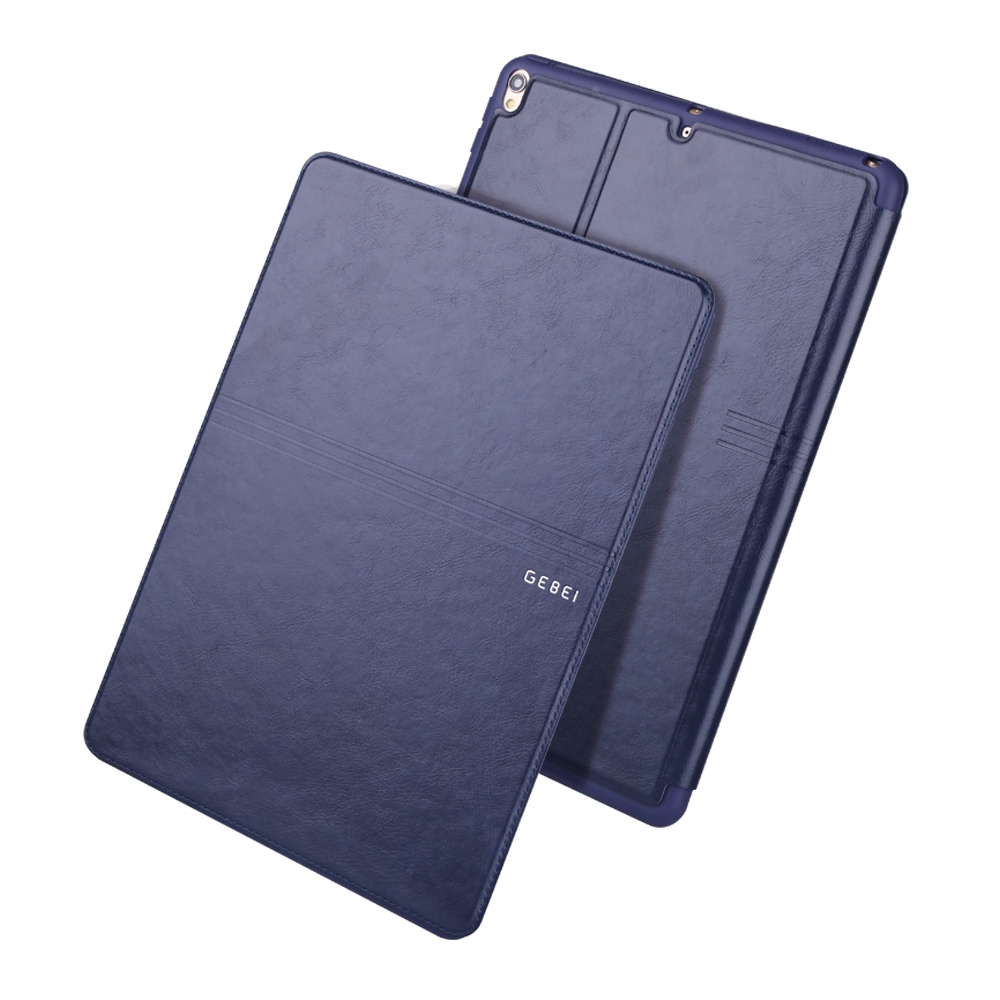 iPad Air 3 Case (10.5 Inch) Full Coverage Protective Case with Sleeves (Dark Blue)