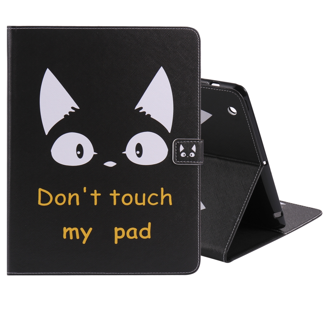 iPad 4 Case Featuring A Protective Durable Leather Cover, Slim Profile & Auto Sleep (Cat Ears)
