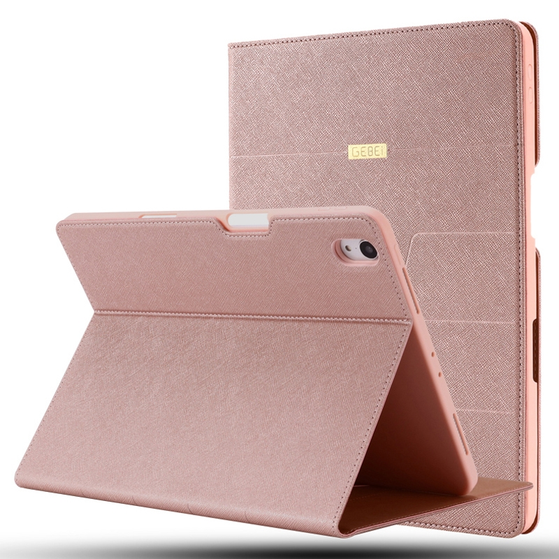 PU/Protective Durable Casing with Sleeves (Rose Gold)
