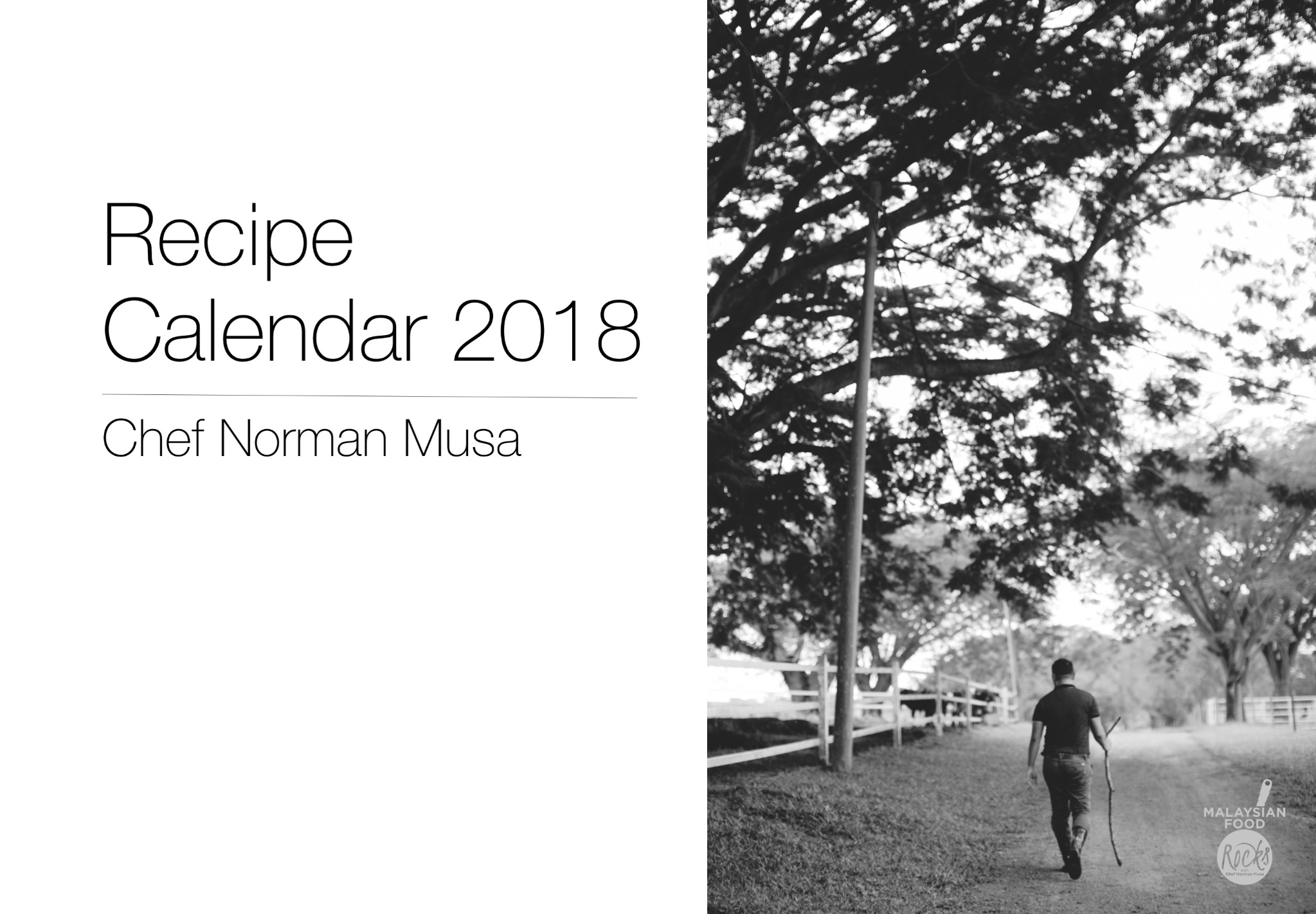 Chef Norman Musa's Recipe Calendar 2018 (PDF Download)