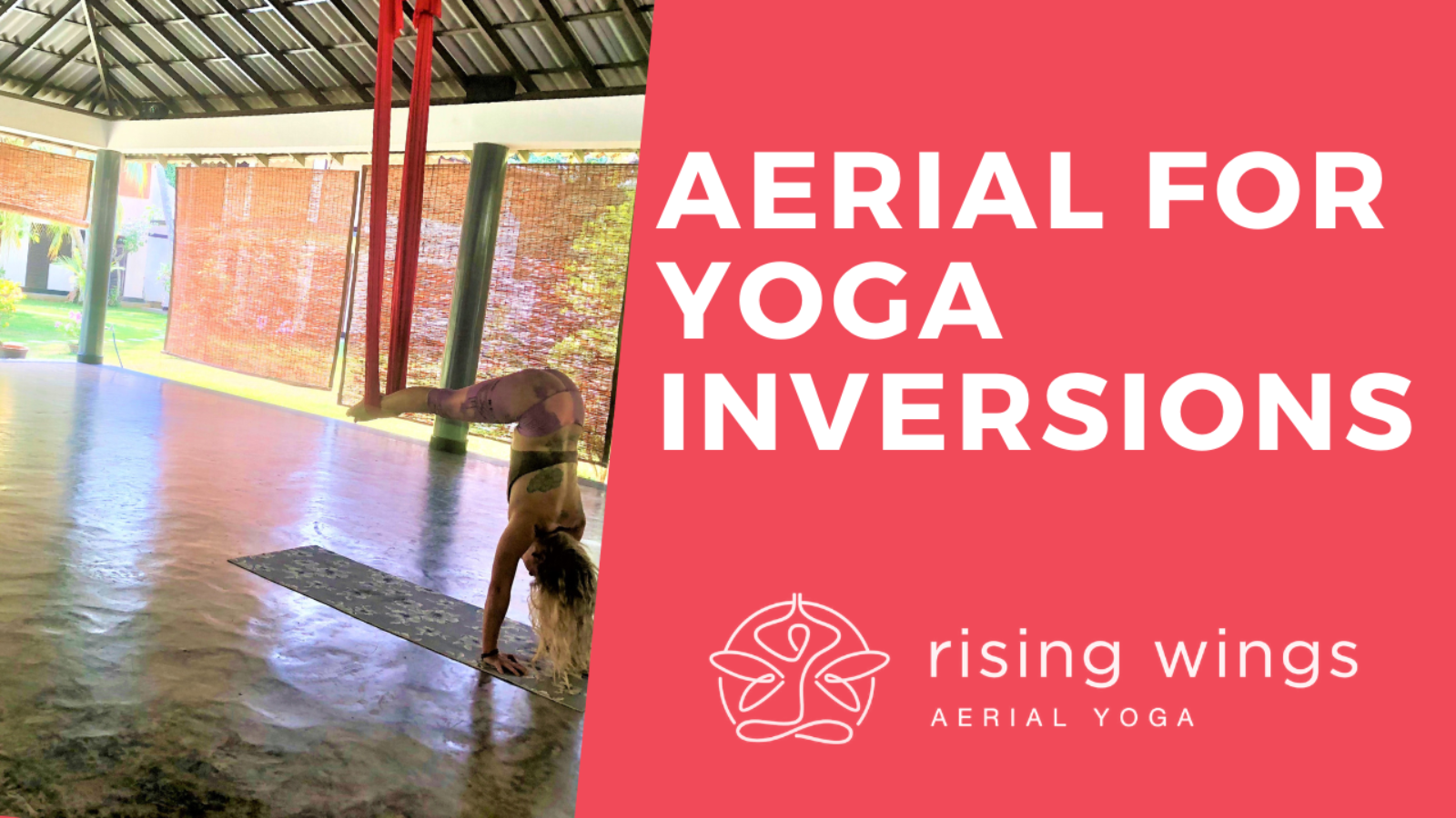 Aerial for Yoga Inversions Aerial Yoga 50-Minute Class