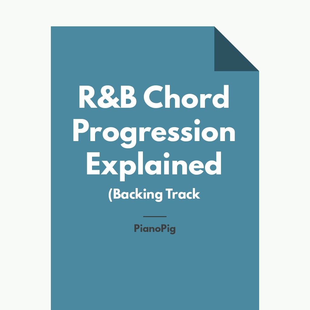 R&B Chord Progression EXPLAINED (Backing Track)