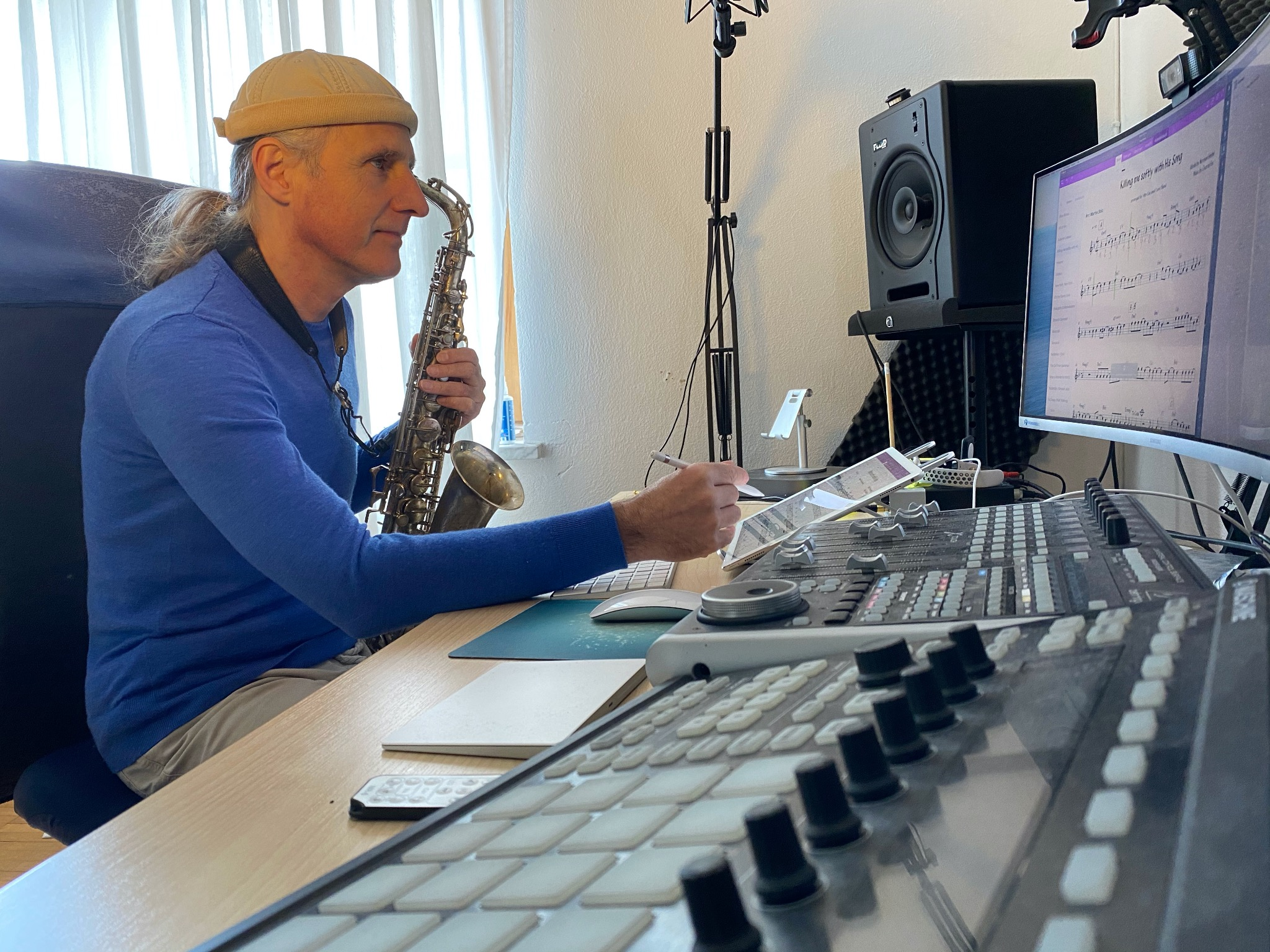 Online Lessons for Saxophone, Clarinet, Flute and Improvisation