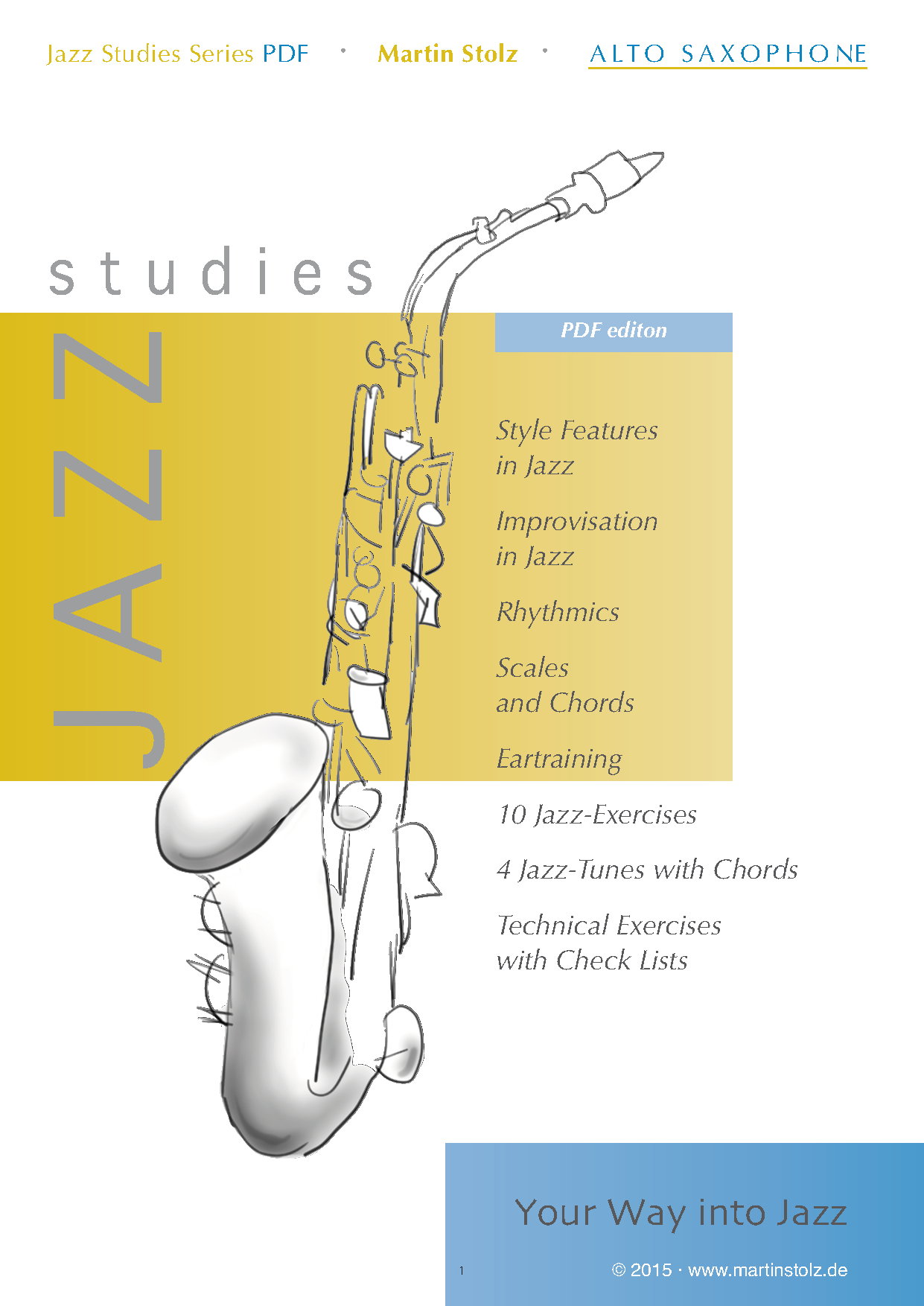 Jazz Studies Alto Saxophone PDF-Edition