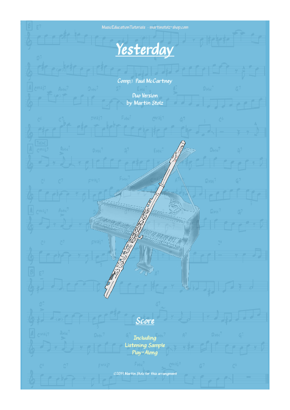 """Yesterday"" for Flute · Duo Version"