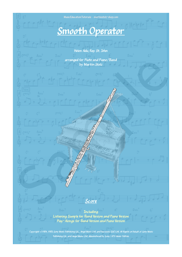 Smooth Operator for Flute and Band/Piano