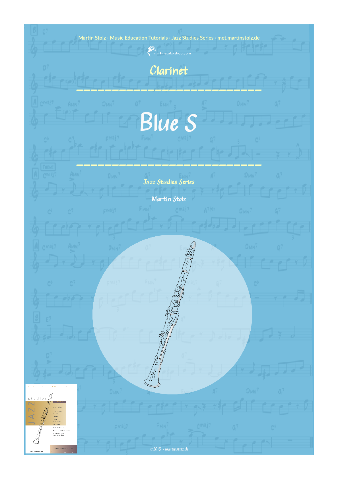 Blue S for Clarinet