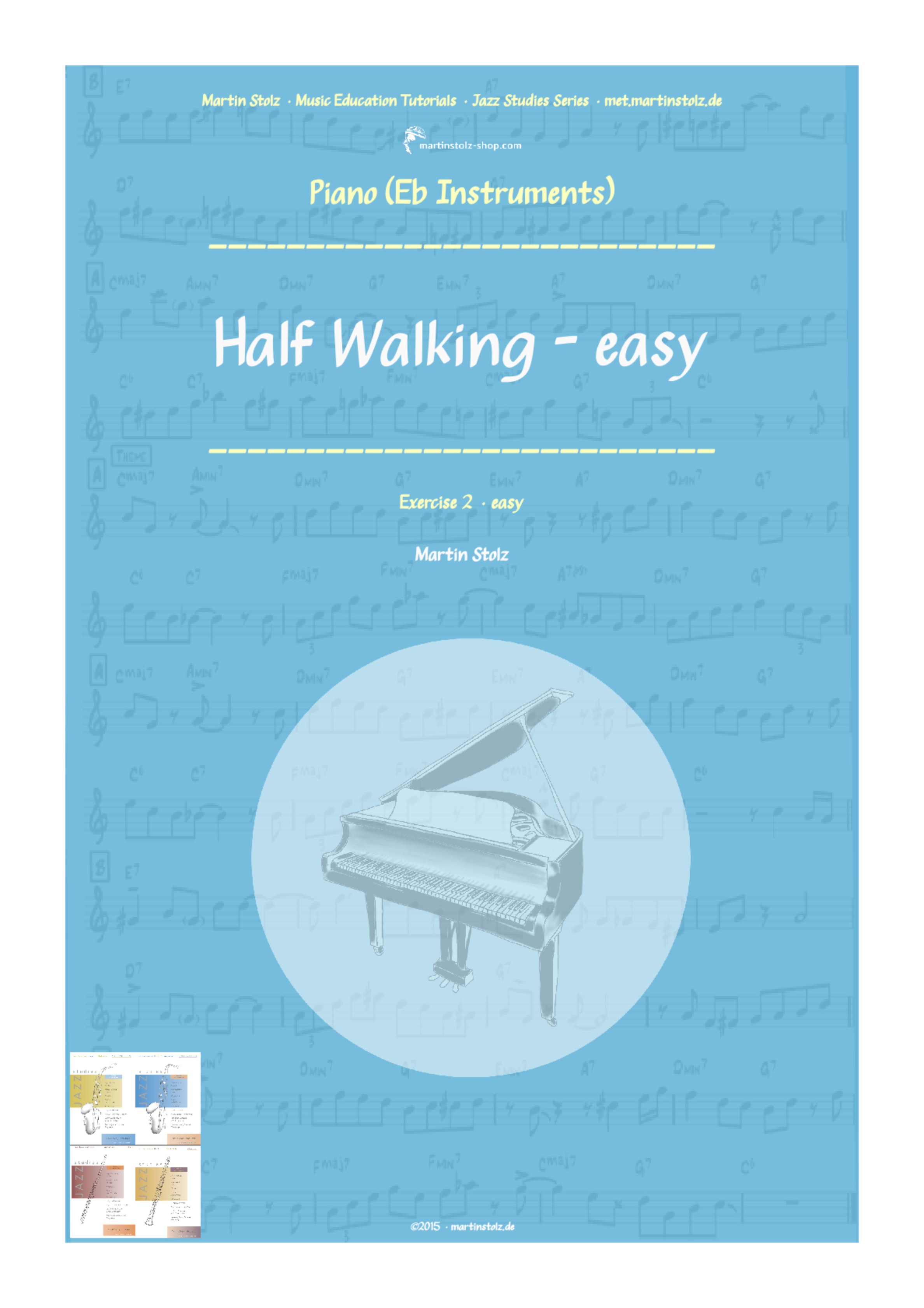 Half Walking (easy version) · Alto Saxophone & Piano