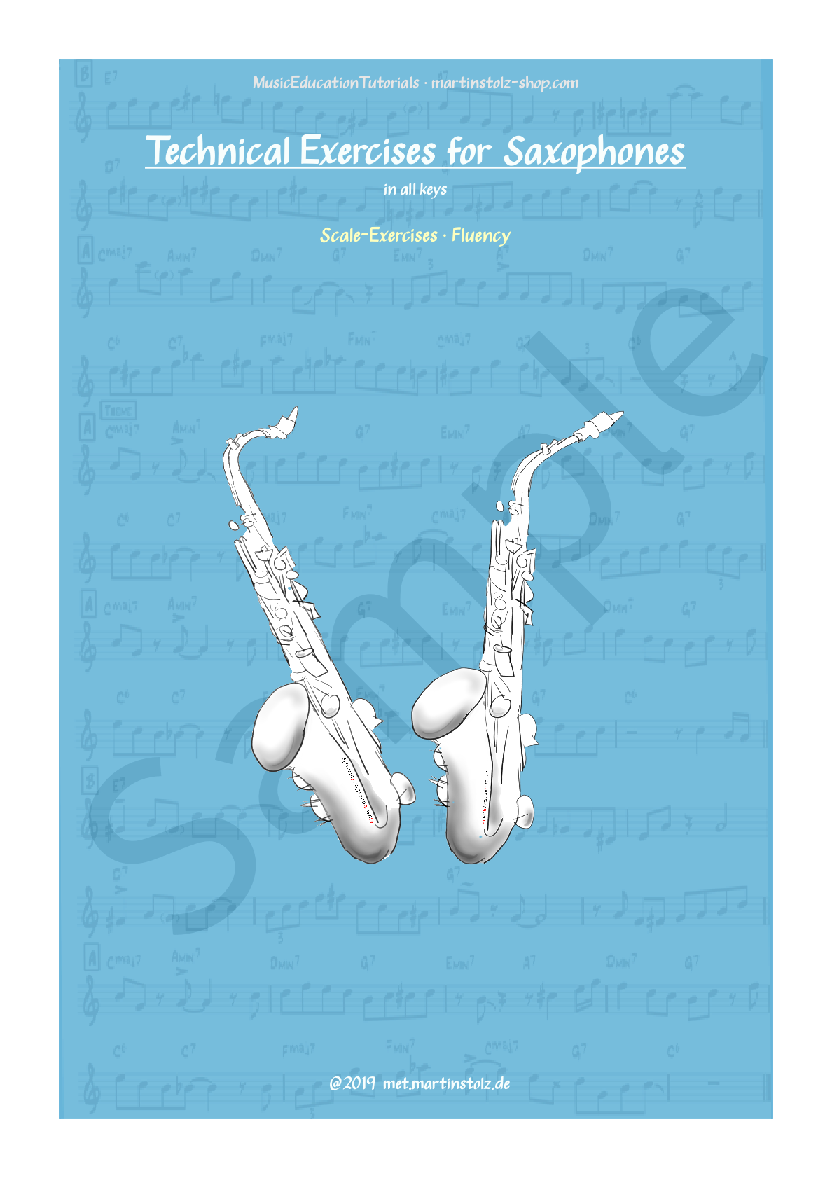 Scale Exercises · Fluency · for Saxophones · Pdf