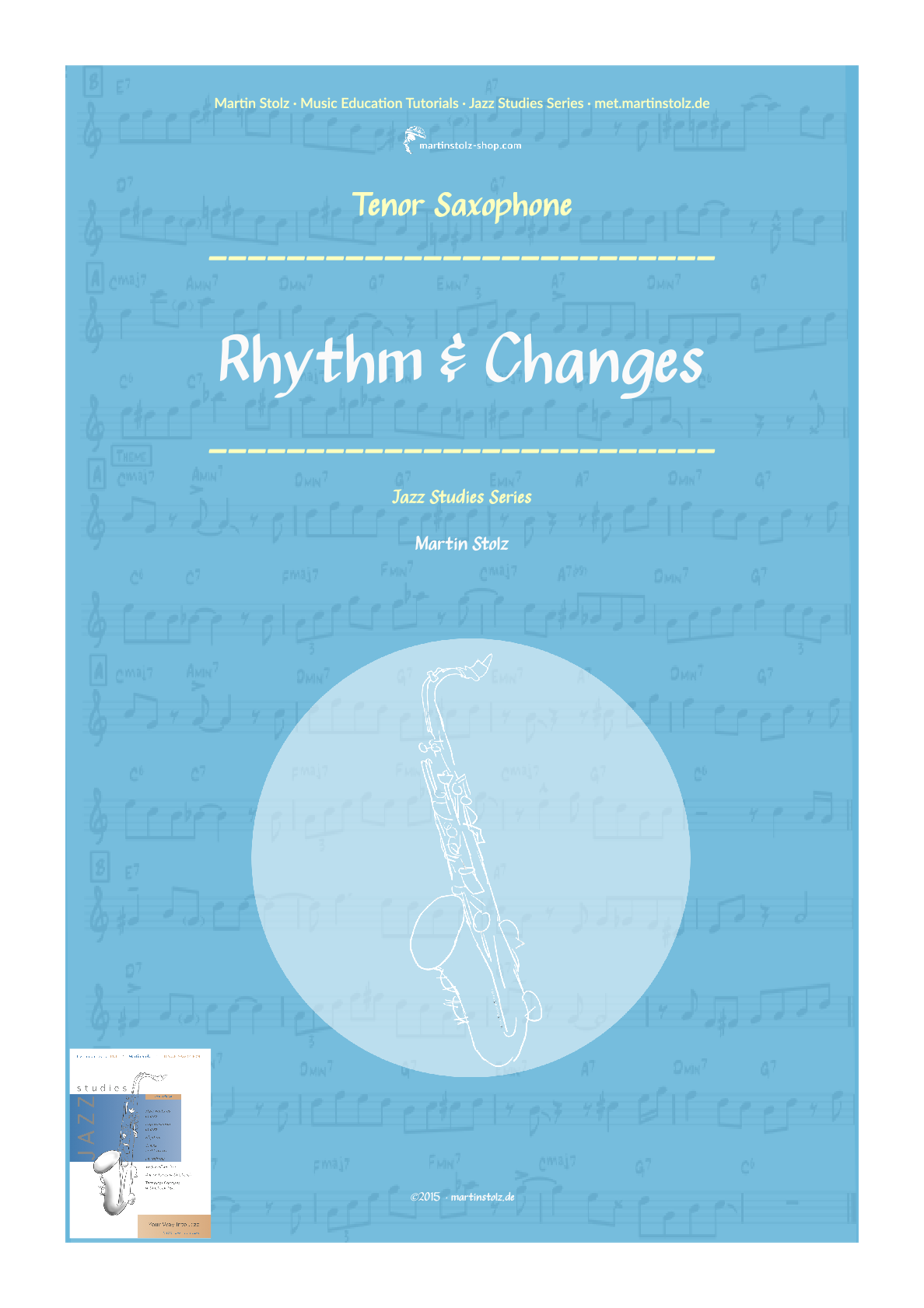 Rhythm & Changes for Tenor Saxophone