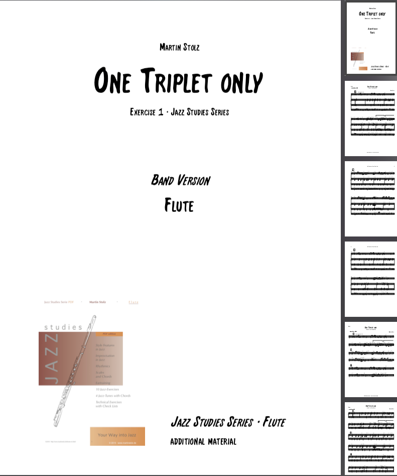 One Triplet only · Flute & Band
