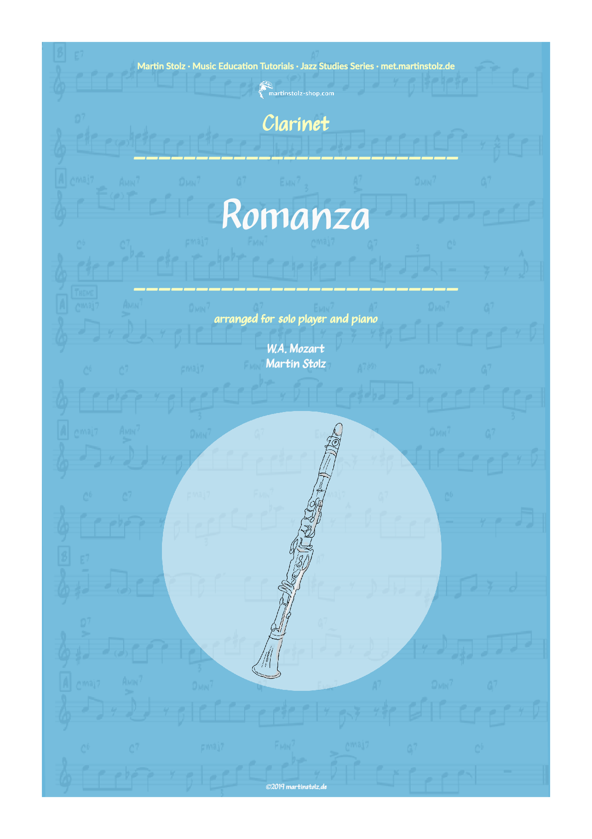"W.A. Mozart ""Romanza"" for Clarinet and Piano"