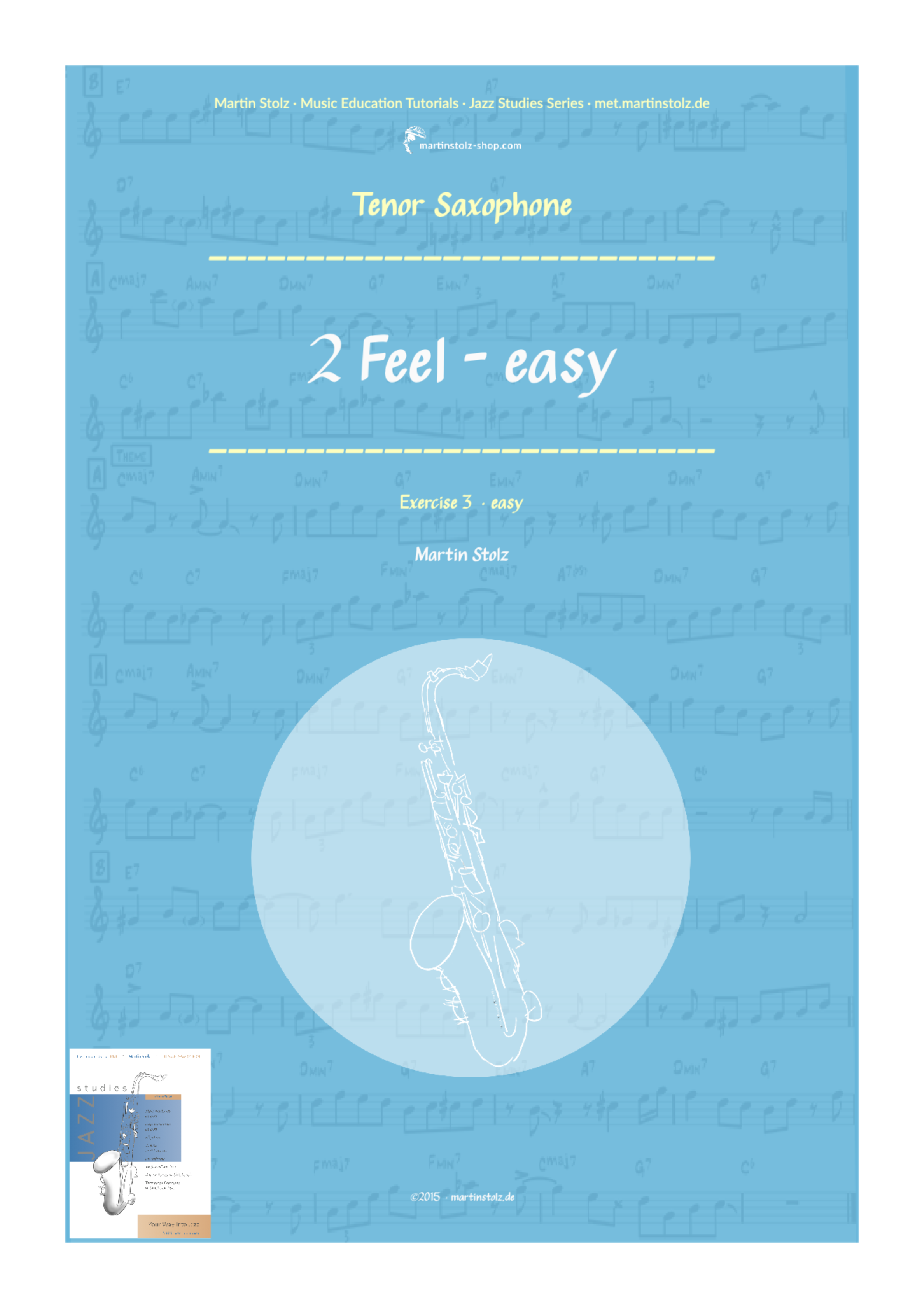 2 Feel (easy version) · Tenor Saxophone & Piano