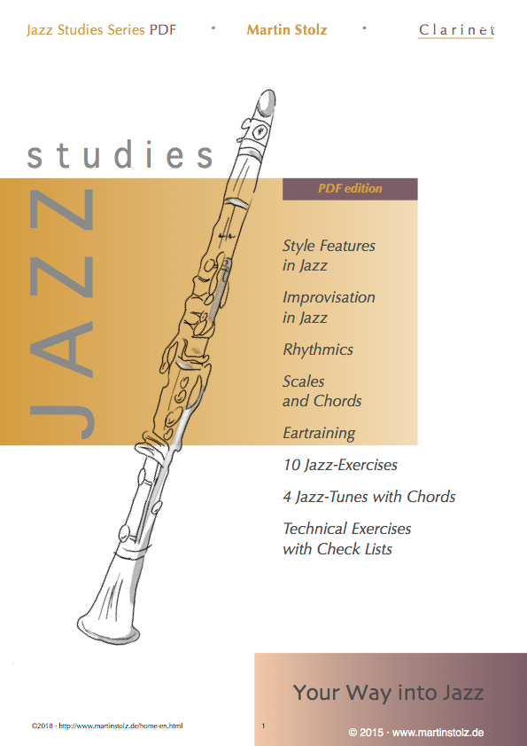 Jazz Studies Clarinet PDF-Edition