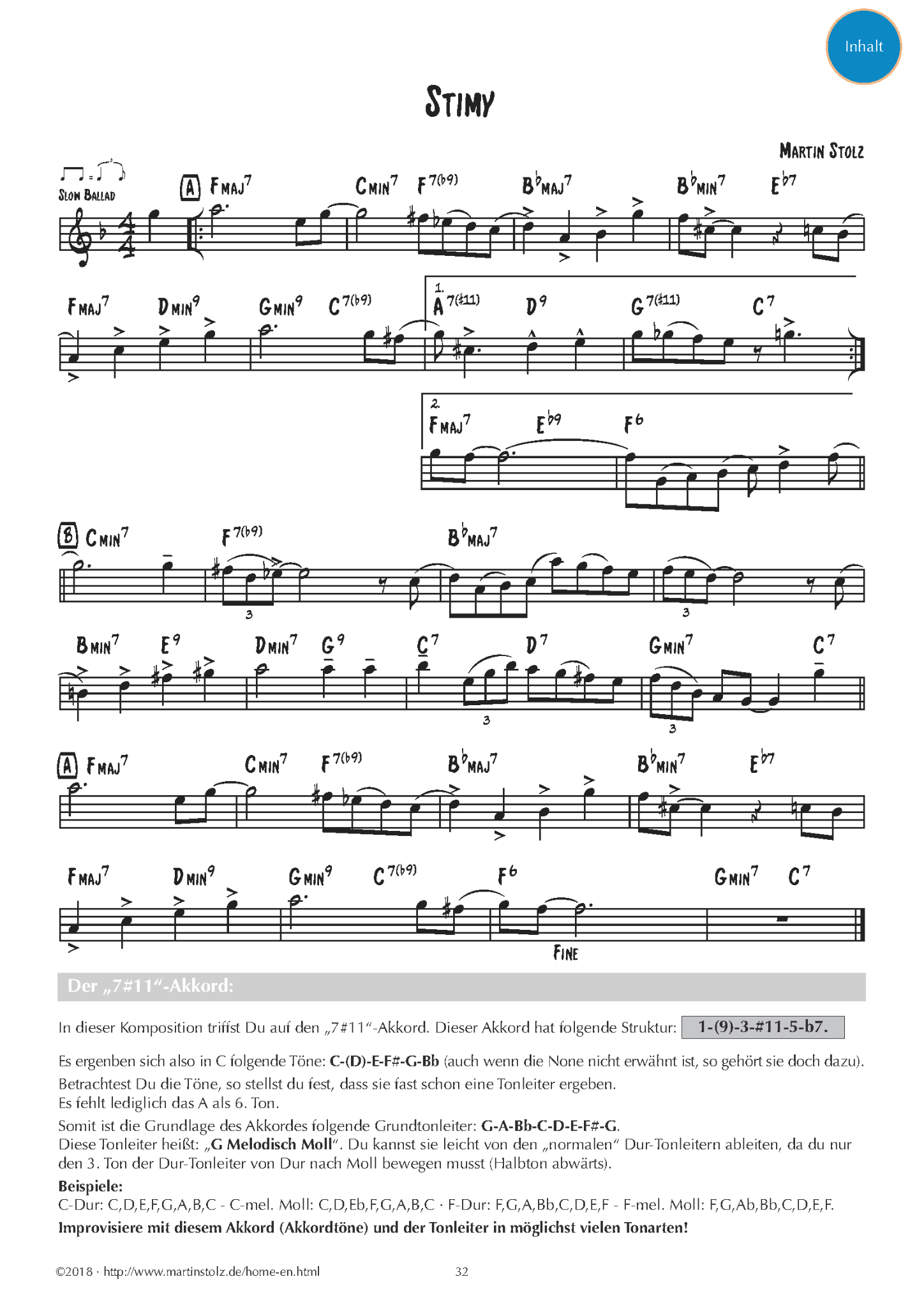 Jazz Studies Klarinette PDF-Version