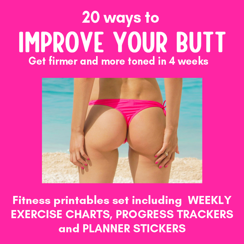 Improve your butt 4 week program