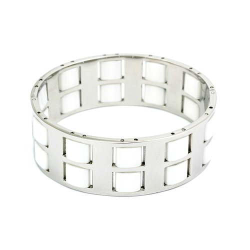 Sterling Silver 65mm Solid Twist Bangle