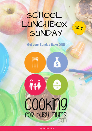 School Lunchbox Sunday the Magazine - eBook ONLY