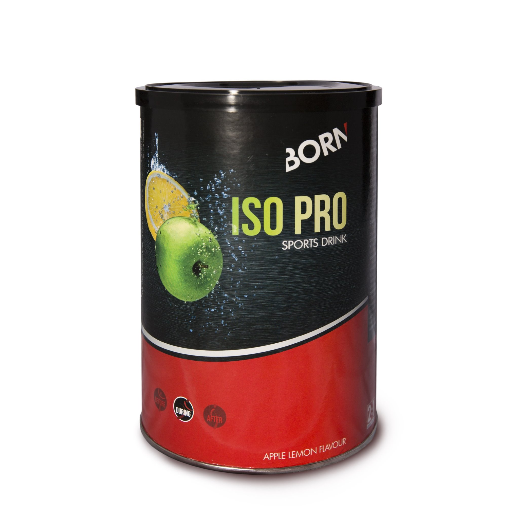 BORN ISO PRO Apple & Lemon Can (400g Powder)