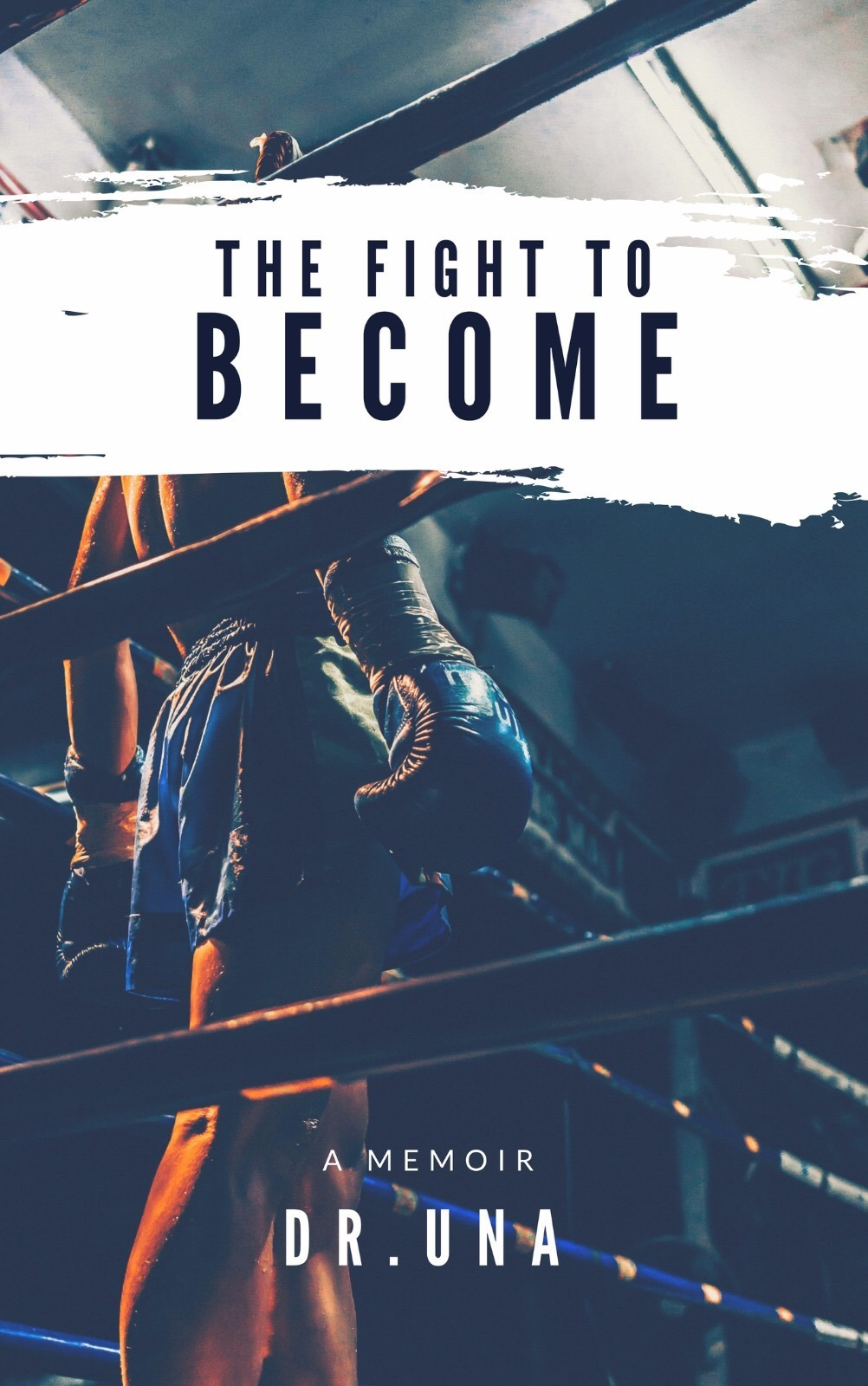 THE FIGHT TO BECOME - SOFT COVER BOOK