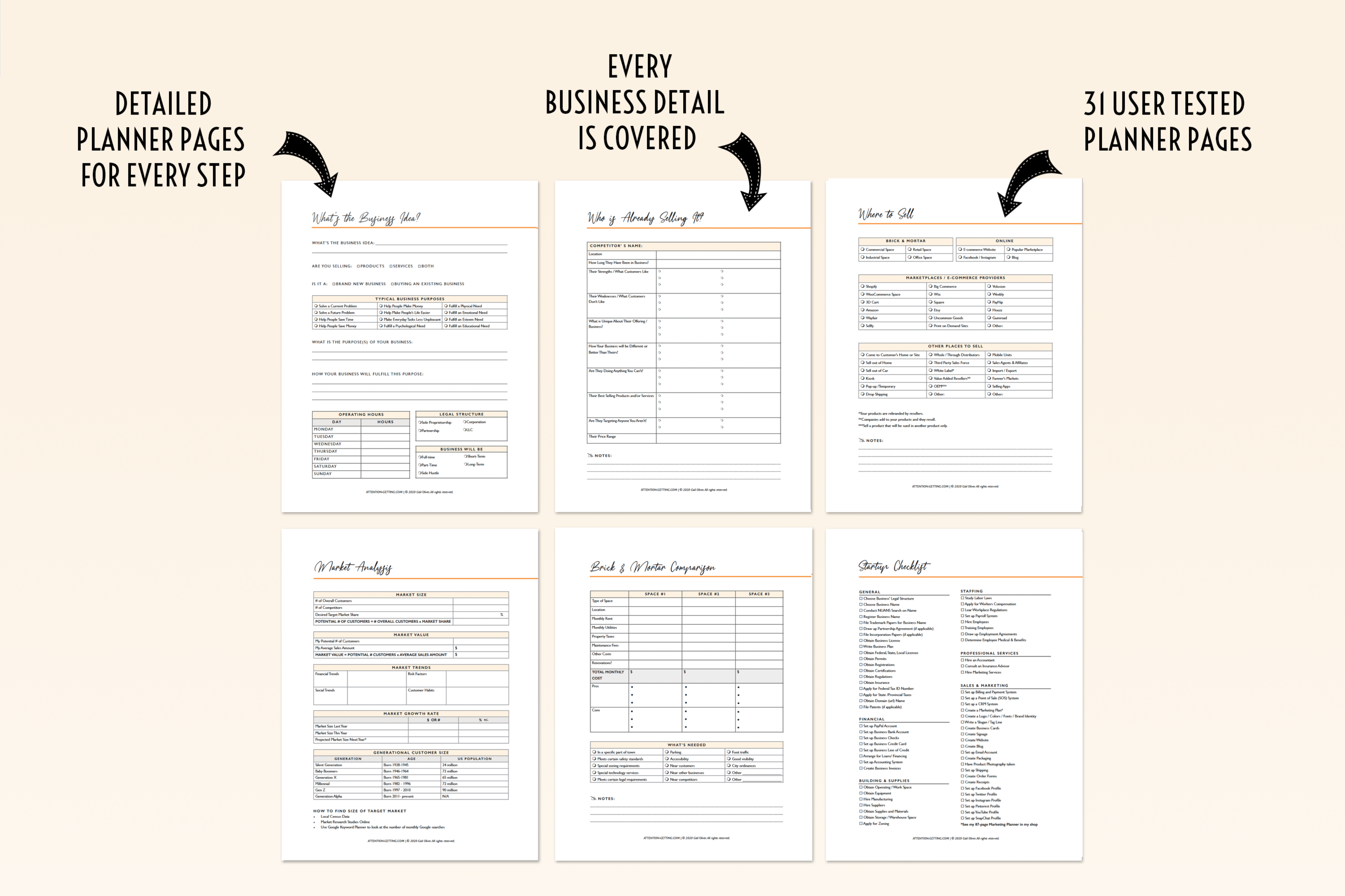 How to Start a New Business Planner