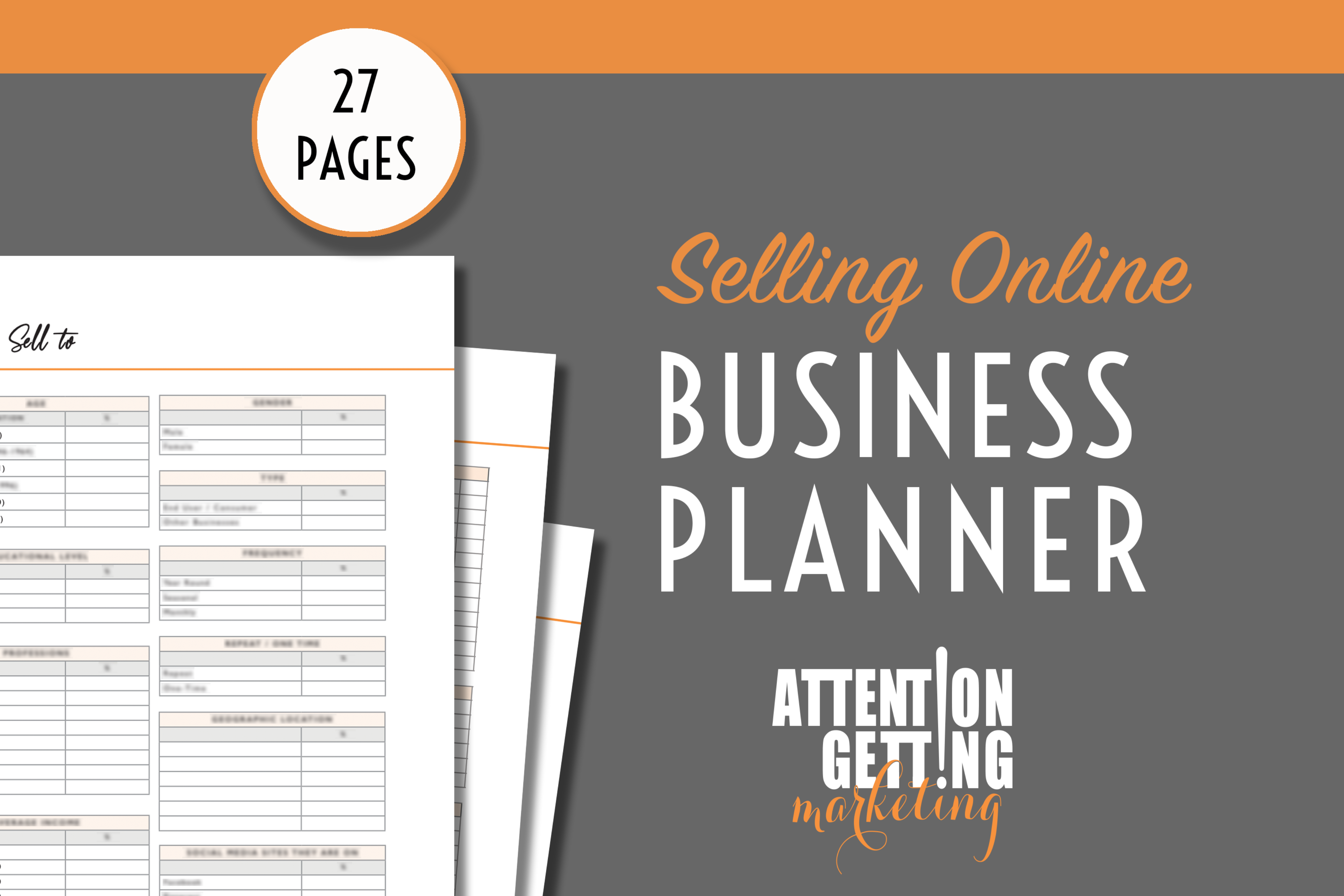 How to Start Selling Online Planner
