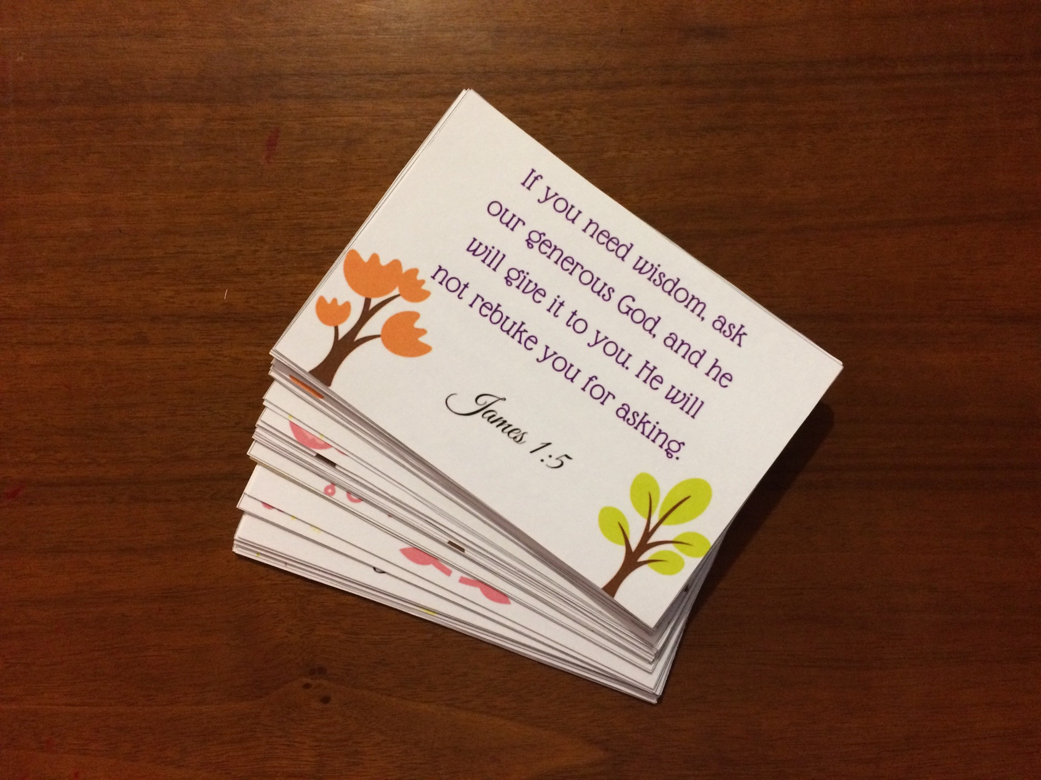 52 Bible Verses for Moms Printable