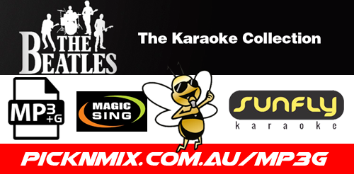 The Beatles Collection - 104 Sunfly Karaoke Songs (MP3+G / Magic Sing)