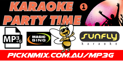 00's Party Time Collection Vol 1 - 120 Sunfly Karaoke Songs (MP3+G / Magic Sing)