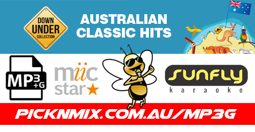 Aussie Collection - 180 Sunfly Karaoke Songs (MP3+G / MIIC STAR)