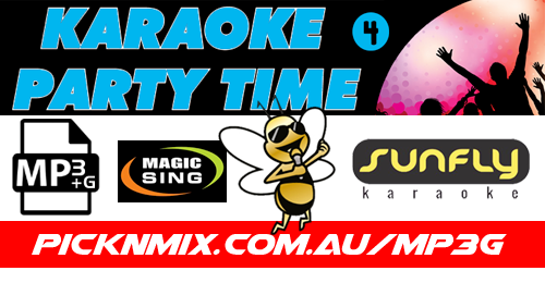 00's Party Time Collection Vol 4 - 120 Sunfly Karaoke Songs (MP3+G / Magic Sing)