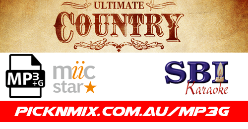 Ultimate Country Collection - 225 SBI Karaoke Songs (MP3+G / MIIC STAR)