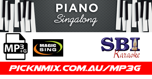 Piano Sing-Along Collection - 50 SBI Karaoke Songs (MP3+G / Magic Sing)