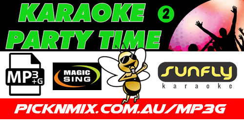 00's Party Time Collection Vol 2 - 120 Sunfly Karaoke Songs (MP3+G / Magic Sing)